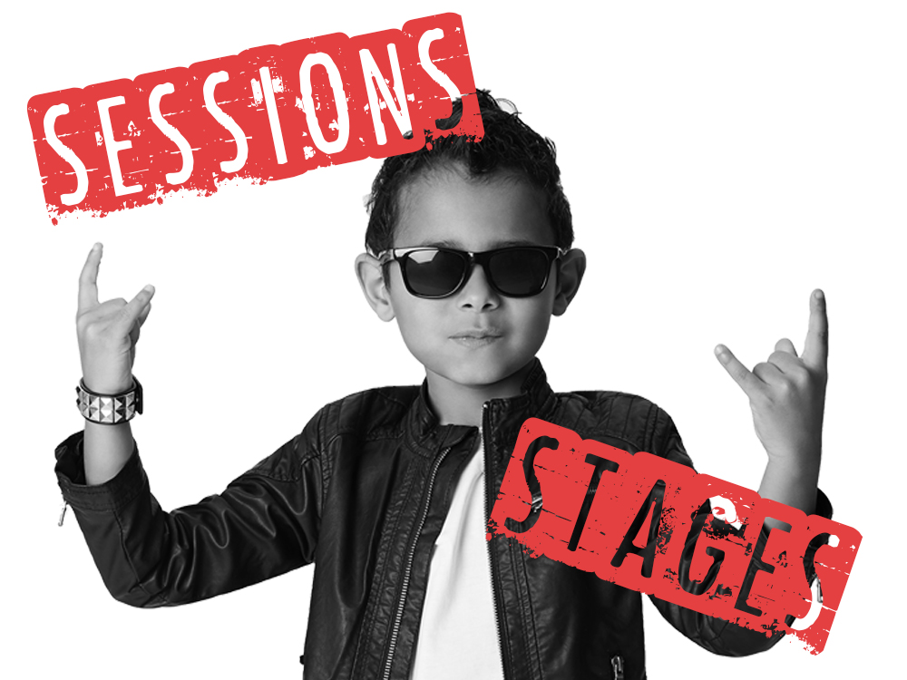 Sessions and stages
